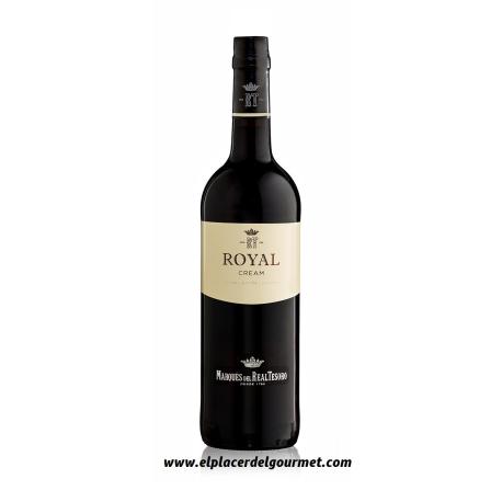 xherry royal cream bodegas Real Tesoro 75 cl.acheter 6 unités avec 10%