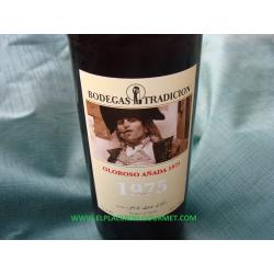 JEREZ DE VIN amontillado v.o.r.s. 30 ans 75 cl. TRADITION winery