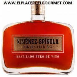 WINE JEREZ BRANDY XIMENEZ ESPINOLA CIGARS CLUB Nº1 70 CL
