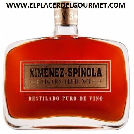 VINO JEREZ BRANDY XIMENEZ ESPINOLA CIGARS CLUB Nº2 70 CL