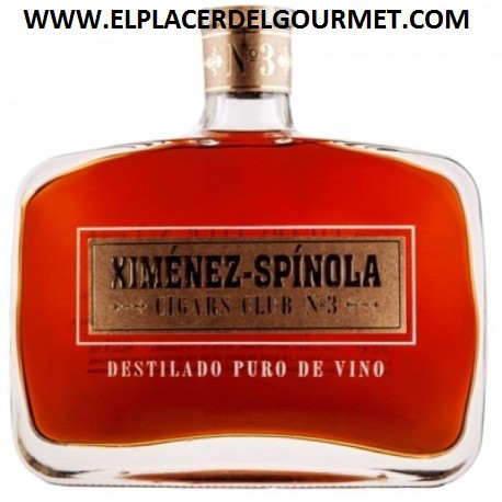 WINE JEREZ BRANDY XIMENEZ ESPINOLA CIGARS CLUB Nº1 70 CL