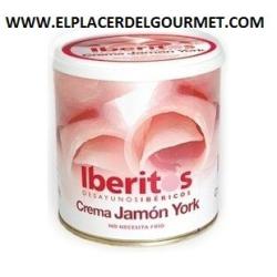 iberitos crema de jamon york 700 gramos CAJA 5 UNIDADES