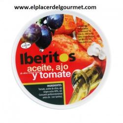 Aceite, ajo y tomate Iberitos 250gr.