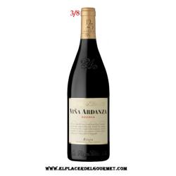 VINO TINTO viña ardanza reserva 3/8 Rioja