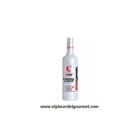 vodka caramelo riska 70 cl.
