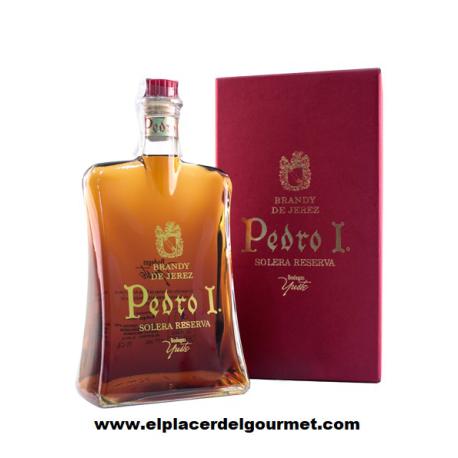 Pedro I Brandy de Jerez sherry, Bodegas Yuste