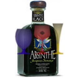 ABSINTHE BLACK 85º B.70 CL  JAQUES SENAUX