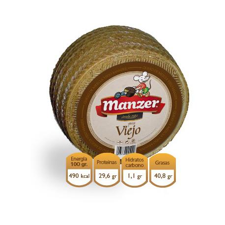 Queso mezcla viejo Manchego Manzer