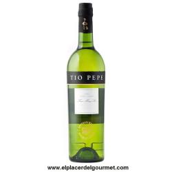 Jerez vino Fino Tio Pepe 75 cl.bodegas gonzalez byass