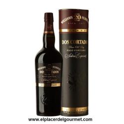 Two Cortados palo cortado sherry V.O.S.Special Solera 20 Years 75 CL. D.O. Jerez- Xérès-Sherry