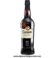 DO Jerez-Xéres-Sherry CANASTA CREAM 75 CL Sherry Williams & Humbert caves