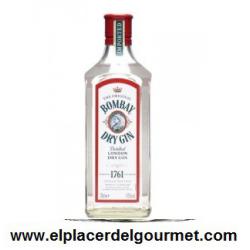 BOMBAY GIN ORIGINAL BOT. 70 CL.Compra 6 unidades con un 5 % de descuento