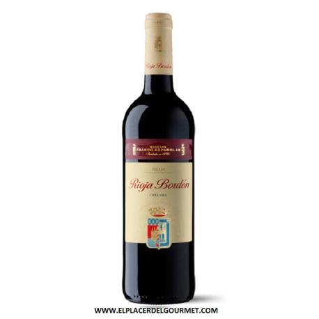 Rioja Bordón crianza 75 cl.