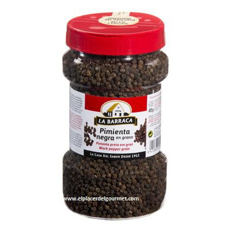 pimienta negra en grano la barraca bote 415 gramos