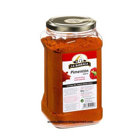 pimenton dulce esencia bote 800 gr