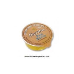 iberitos crema de pate iberico monodosis 40 porciones 25 gramos