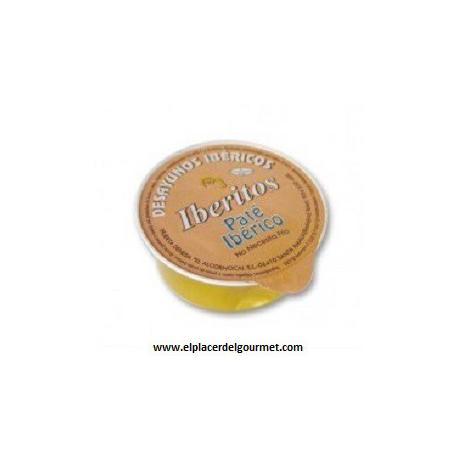 iberitos crema de jamon york monodosis 40 porciones 25 gramos