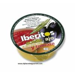 Aceite, ajo y tomate Iberitos