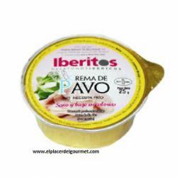 Crema de Pavo Iberitos (45unidadesx25 gramos)