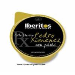 Paté ibérico al Pedro Ximenez  Iberitos