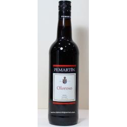 -Sherry   Wein Oloroso Pemartín. Zehn Bodega Merito 70 cl.Compra 6 Flaschen mit 5%