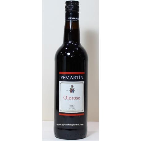 """Sherry Oloroso """"Pemartín"""". Dix Bodega Merito 70 cl.Compra 6 bouteilles avec 5%"""