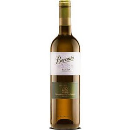 Vino blanco beronia rueda verdejo 75 cl. compra 6 botellas con un 5% e descuento