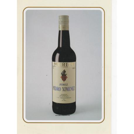 Pedro Ximenez sherry wine Merito bot. 70cl. buy 6 bottles with 10% discount
