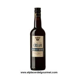 jerez vino oloroso dulce CREAM ARGÜESO  75 cl. bodegas argueso.