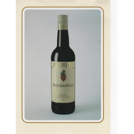 Merit Manzanilla sherry wine bot. 75 cl.
