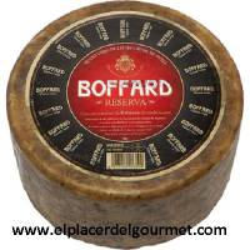 queso viejo reserva de leche cruda de oveja BOFFARD  peso aproximado pieza 3,125 kg