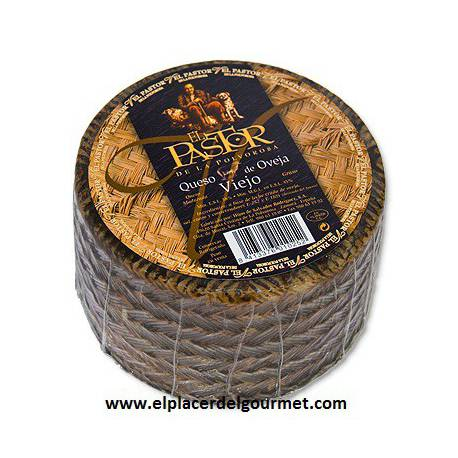 Aged Sheep Cheese Zamora Pastor piece 3 kilos. 37 euros
