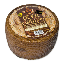 zamorano cheese O.D. Cured Sheep shepherd piece 3 kilos. 31 euros
