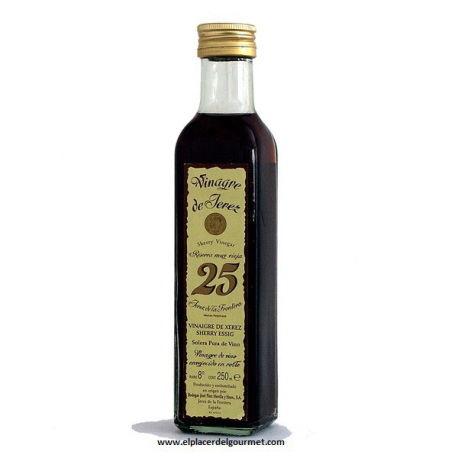SHERRY VINEGAR BOOK 25.D.E. Paez Morilla bot 25 cl
