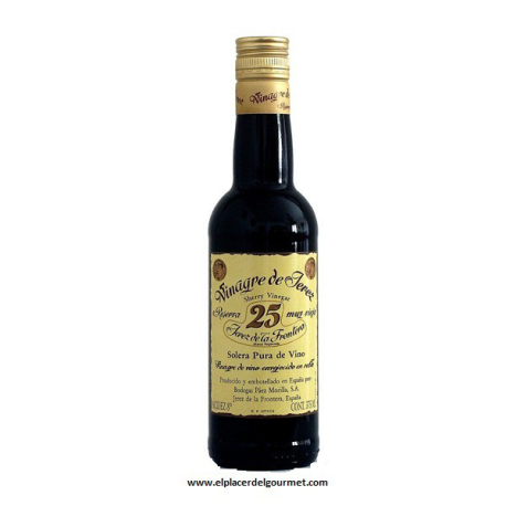 SHERRY VINEGAR BOOK 25.D.E. Paez Morilla bot 37.5 cl