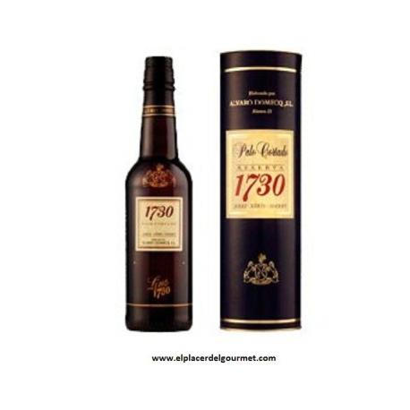 O.D. Sherry Xeres-Sherry Palo Cortado Alvaro Domecq Wein bot VORS 1730. 37,5 cl.