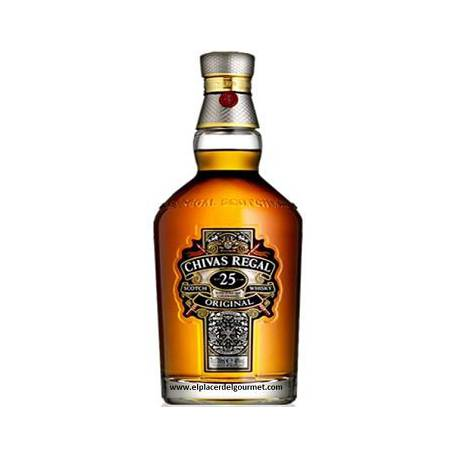 SCOTCH WHISKY MALTA DE 25 AÑOS CHIVAS REGAL 70 CL