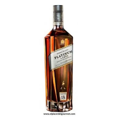 Whisky Johnnie Walker Platinum Label 18 años 1Litro